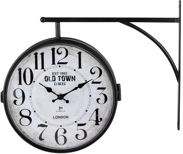 Lowell Oboustranné nástěnné hodiny 14756