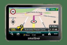 """Smailo HD50 5.0"""" Térkép nélküli navigáció"""