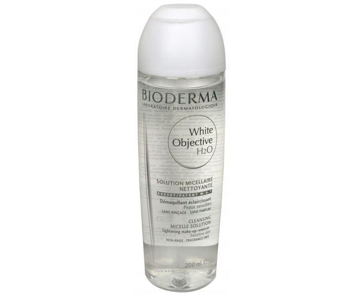 Bioderma Zesvětlující pleťová voda proti hnědým skvrnám (White Objective H2O) 200 ml
