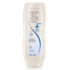 Avon Hydratační tělové mléko do sprchy Skin so Soft 250 ml