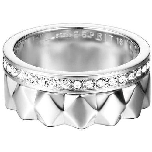 Esprit Ocelový fashion prsten 2 v 1 ESPRIT-JW52891 (Obvod 57 mm)