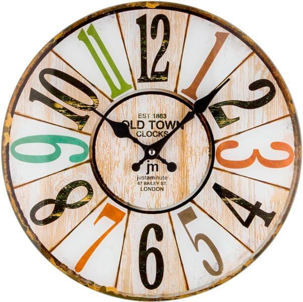 Lowell Designové nástěnné hodiny 14878
