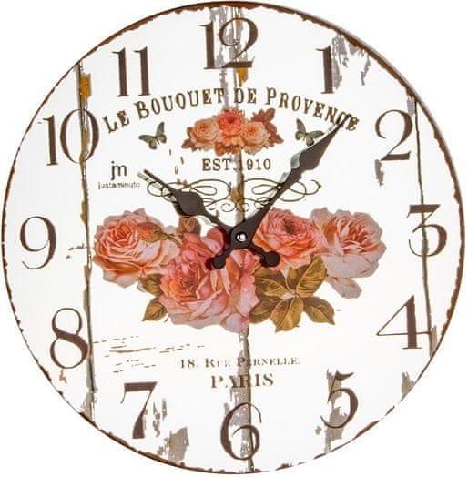 Lowell Designové nástěnné hodiny 14879