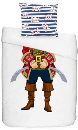 Baleno otroška bombažna posteljnina Pirate