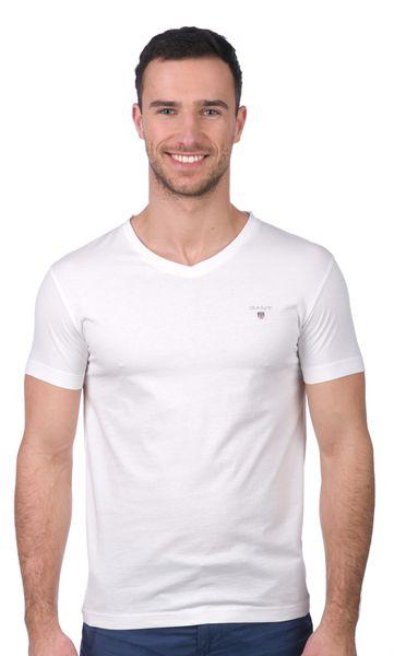 Gant pánské tričko M bílá