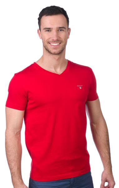 Gant pánské tričko L červená
