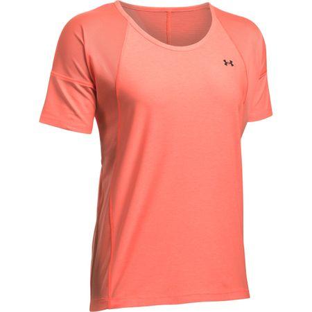 Under Armour ženska majica Armour Sport SS, oranžna, S