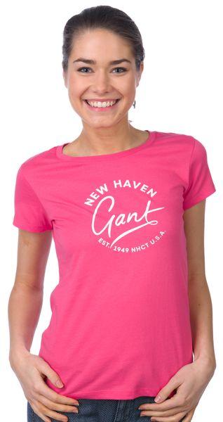 Gant dámské tričko XS růžová