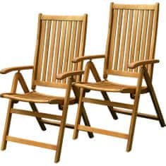 Fieldmann krzesła ogrodowe FDZN 4001-T (2 szt)