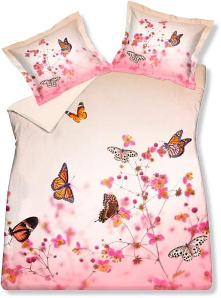 Vandyck Luxusní saténové povlečení Butterfly garden