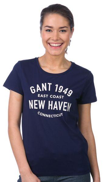 Gant dámské tričko XS tmavě modrá