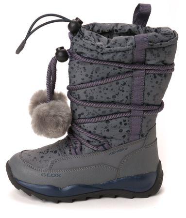 Geox dekliški čevlji za sneg 34 siva