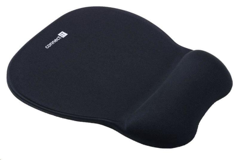 Connect IT FOR HEALTH podložka pod myš se zápěstní opěrkou z paměťové pěny (CI-501)