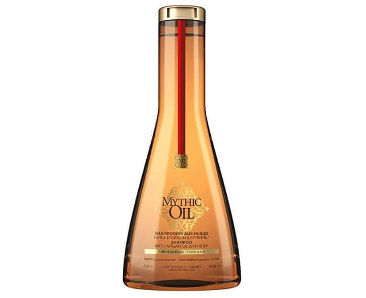 Loreal Professionnel Šampon pro silné a nepoddajné vlasy Mythic Oil (Shampoo Thick Hair) (Objem 250 ml)