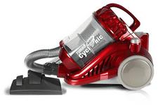 TurboTronic odkurzacz bezworkowy TT-CV05, czerwony