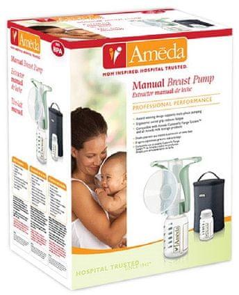 Ameda Ergo manuální odsávačka mateřského mléka