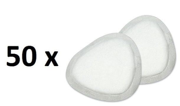 Ameda Diskrétní prsní vložky jednorázové, 50 ks