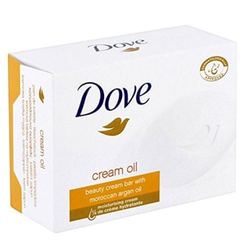 Dove Vyživující krémová tableta s arganovým olejem (Beauty Cream Oil Bar) (Objem 100 g)