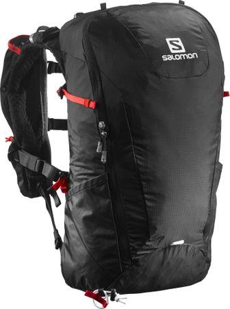 Salomon nahrbtnik Peak 20, črn/rdeč