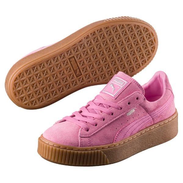 Puma Suede Platform Jr Prism Pink 36