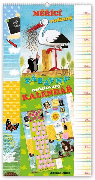 Nástěnný kalendář Krteček, měřící