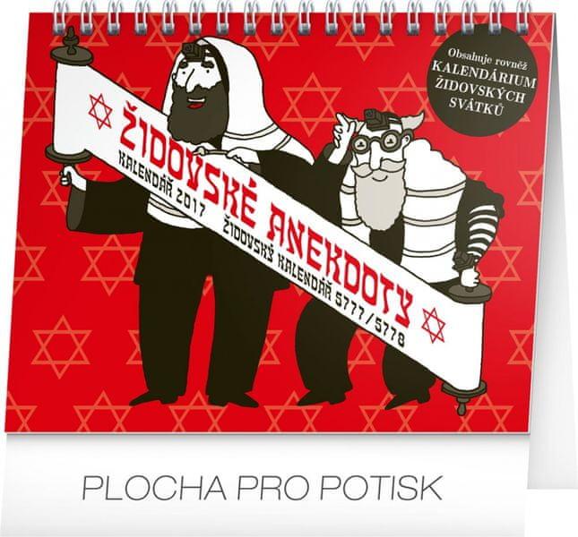 Stolní kalendář Židovské anekdoty 2017