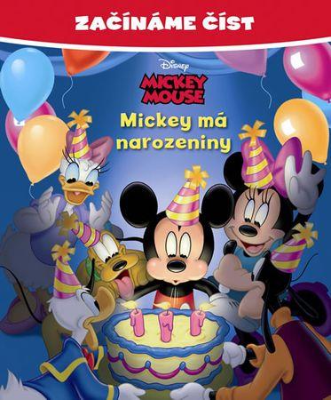 Disney Walt: Mickey Mouse - Mickey má narozeniny - Začínáme číst
