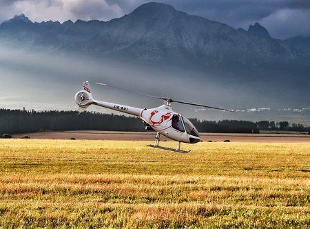 Poukaz Allegria - výlet vrtulníkem okolo Hradce