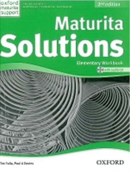 Falla Tim, Davies Paul A.: Maturita Solutions 2nd Edition Elementary Workbook with Audio CD CZEch Ed