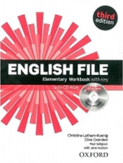 Latham-Koenig Christina; Oxenden Clive;: English File Third Edition Elementary Workbook with Answer