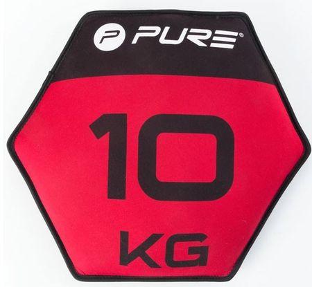 Pure2Improve neopren disk s peskom, 10 kg