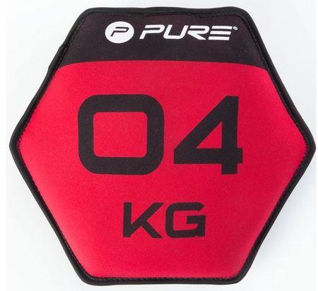 Pure2Improve neopren disk s peskom, 4 kg