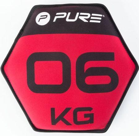 Pure2Improve neopren disk s peskom, 6 kg