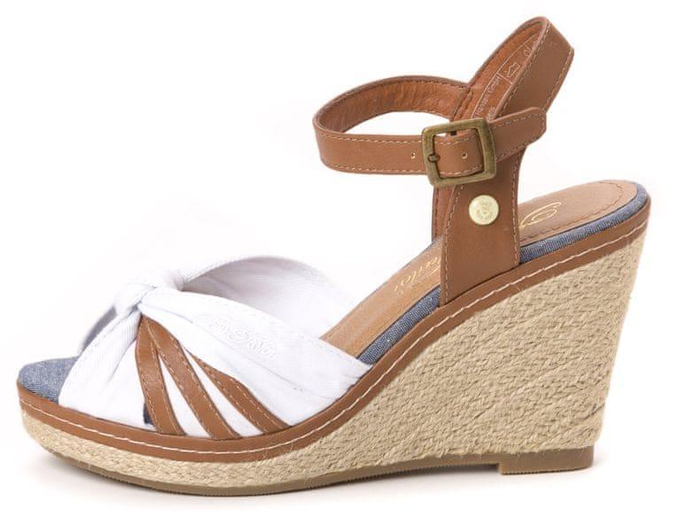 Tom Tailor dámské sandály 41 bílá
