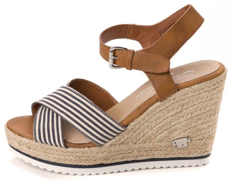 Tom Tailor dámské sandály 41 modrá