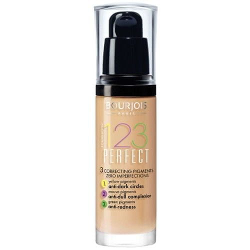 Bourjois Make-up pro perfektní pleť SPF 10 (123 Perfect) 30 ml (Odstín 55 Beige Foncé)