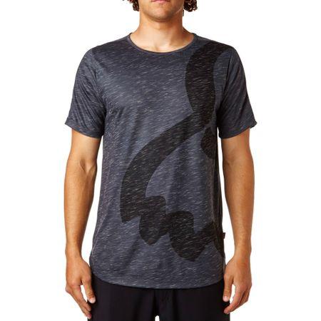 FOX muška majica Eyecon Ss Knit L tamno siva