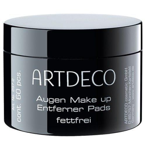 Artdeco Vlhčené odličovací tampóny bez oleje (Eye Makeup Remover Pads Non-Oily) 60 ks