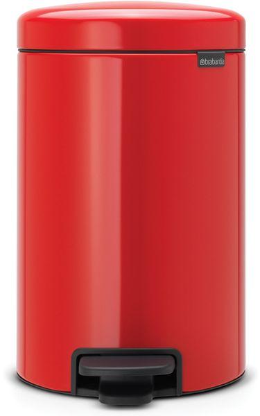 Brabantia Pedálový koš newIcon 12 l červená