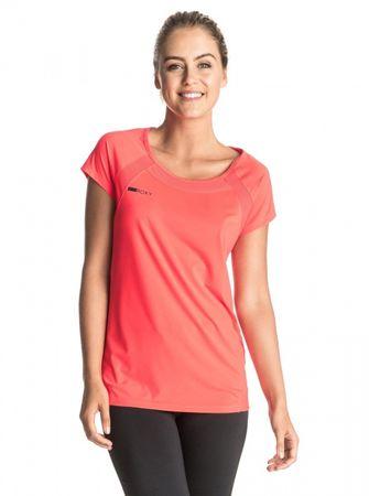 Roxy ženska športna majica Risingrun Tee, roza, S
