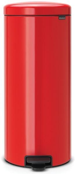 Brabantia Pedálový koš newIcon 30 l červená