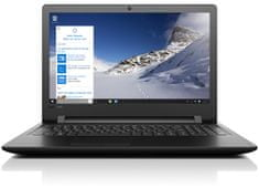 "Lenovo notebook 110-15ISK (80UD00SAPB) Intel Core i3-6100U | LCD: 15.6"" | RAM: 4GB | HDD: 1TB | Windows 10"