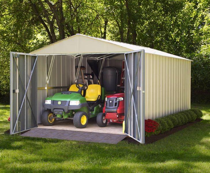 Arrow plechová garáž ARROW COMMANDER 1020