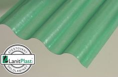 LanitPlast Sklolaminátová role 76/18 výška 2,5 m zelená