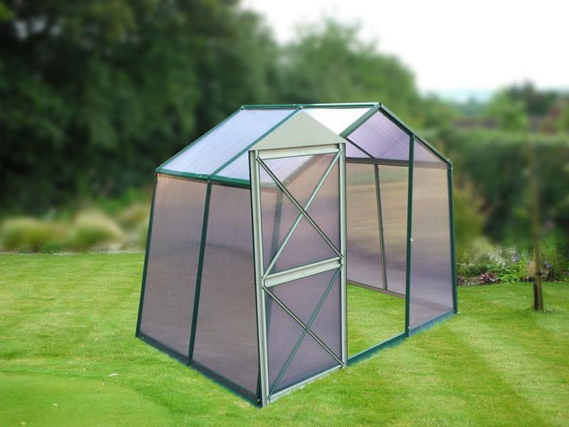 LanitPlast skleník LANITPLAST DODO 8x5 PC 6 mm zelený