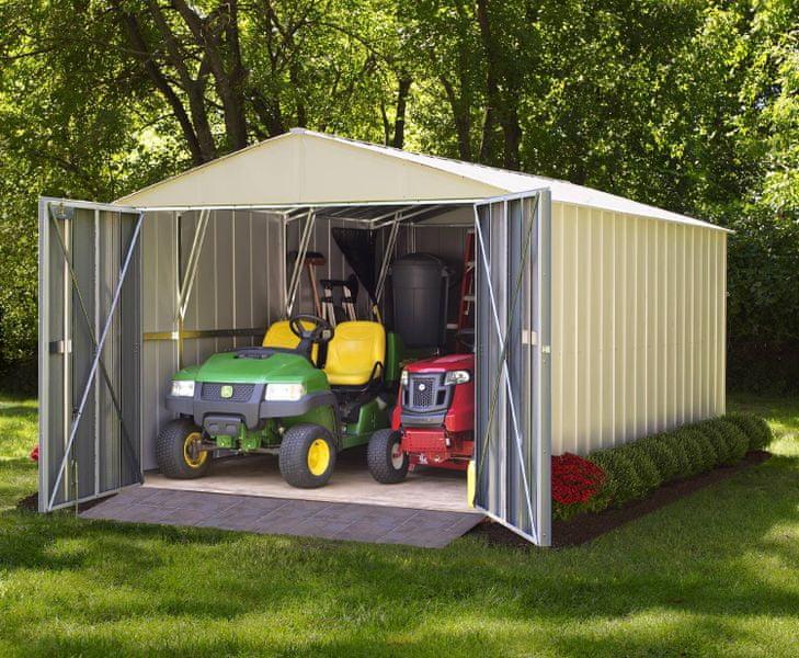 Arrow plechová garáž ARROW COMMANDER 1025