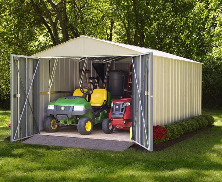 Arrow plechová garáž ARROW COMMANDER 1015