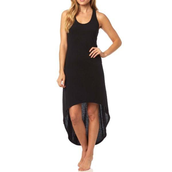 FOX dámské šaty Mapped S černá