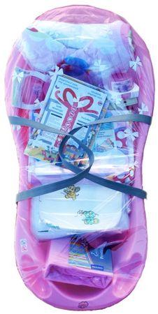 COSING komplet za dojenčke 13-delni, roza