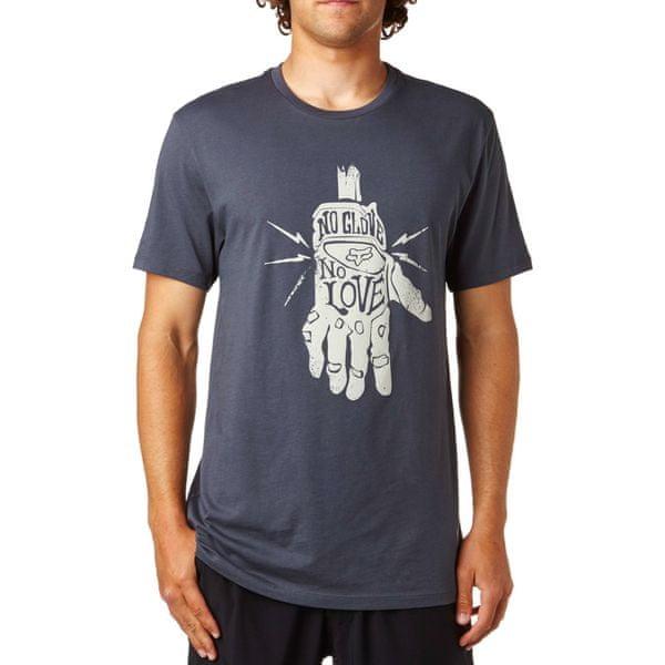 FOX pánské tričko Lifer M tmavě šedá